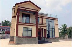 金艾陶瓷砖500多平方别墅中式风格家装设计应用实景效果图