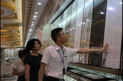 金丝玉玛大理石瓷砖已有100多家专卖店在建