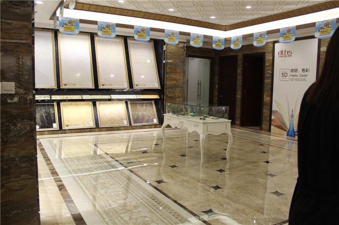 大唐合盛温暖:用不同类型的瓷砖搭配不同的空间风格