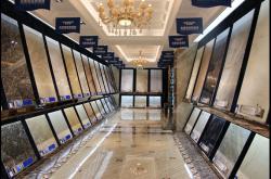刘雄丹称法维诺的大理石瓷砖确实可以定制