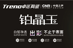 """绿色创新 先锋模范——卓远陶瓷荣膺""""中国绿色瓷砖推荐品牌"""""""