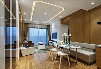 【DHA香港洪德成设计】深圳前海东岸花园样板房——时尚个性风格