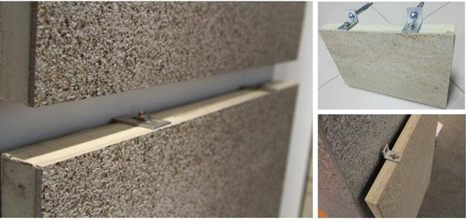 瓷薄板保温防火装饰一体化板粘贴工艺应注意事项