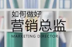 如何做好营销总监?