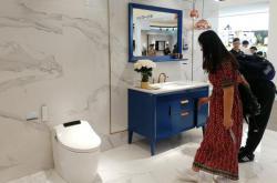 从生活到艺术!恒洁简奢系列浴室柜登陆2018上海国际厨卫展