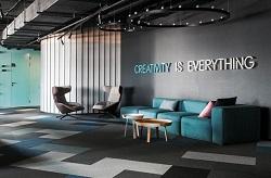 加西亚瓷砖案例 | 办公空间也能这么玩,好设计就该这样打造!