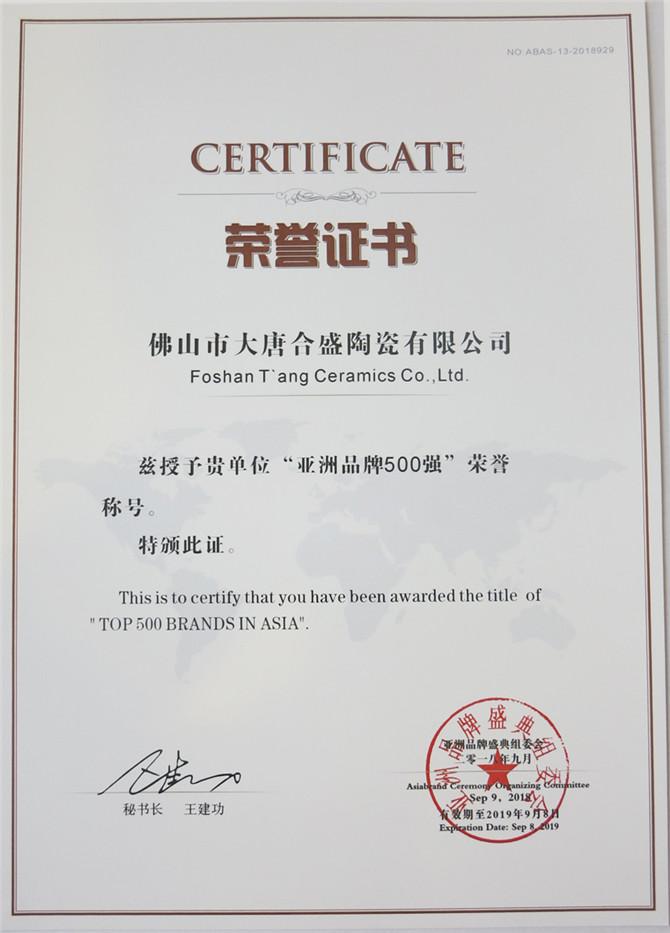 6 第13届亚洲品牌500强荣誉证书.jpg