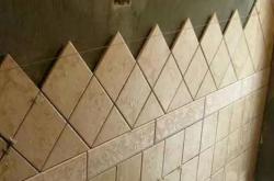 瓷砖0.5mm密缝铺贴,你能学吗?
