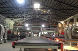 科达为内蒙建能兴辉承建的全自动发泡陶瓷生产线顺利投产