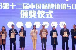 金牌亚洲92.61亿元入选2018中国品牌价值500强