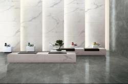 """QD瓷砖原生石材系列,镜面大理石瓷砖还原""""真石""""之美"""
