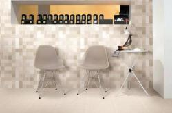 QD瓷砖2019年新品干粒半抛仿古砖,馨毯系列