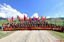 马可波罗瓷砖重走丝绸之路新疆站徒步108公里!