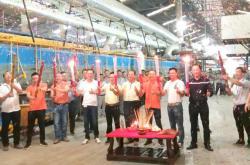 引领岩板5G新时代,新一派企业第二条大岩板智能生产线点火投产!