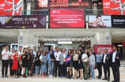 坐拥100个房地产项目的柬埔寨建材采购团已到达中国陶瓷城,速围观!