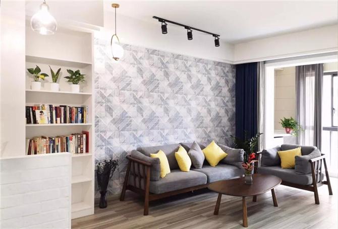 【案例】瓷砖选得对,客厅大一倍!