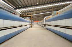 中窑股份与旺康集团四度合作,内墙砖生产线成功投产