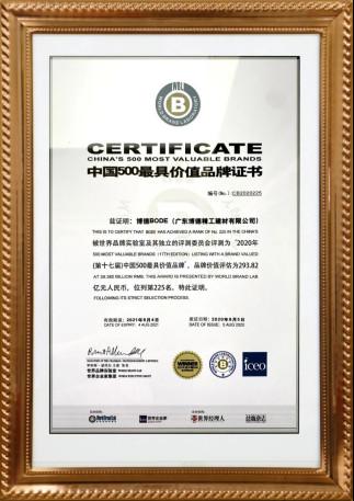 """博德被授予""""陶瓷标准化示范企业""""称号1201.jpg"""