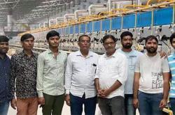 印度首次引进!德力泰超宽体瓷片窑成功点火!