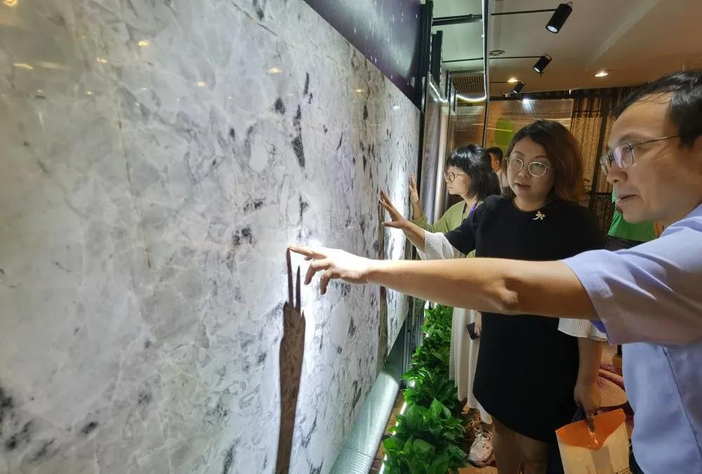 结晶釉岩板原创技术发布引轰动!逼近珍稀石材迈出关键一步