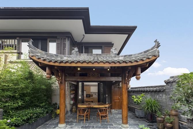 玛缇瓷砖【案例】300㎡新中式别墅·璞雅