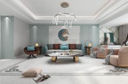 欧神诺样板间|123m²现代美式,在家也能享受的春日大赏