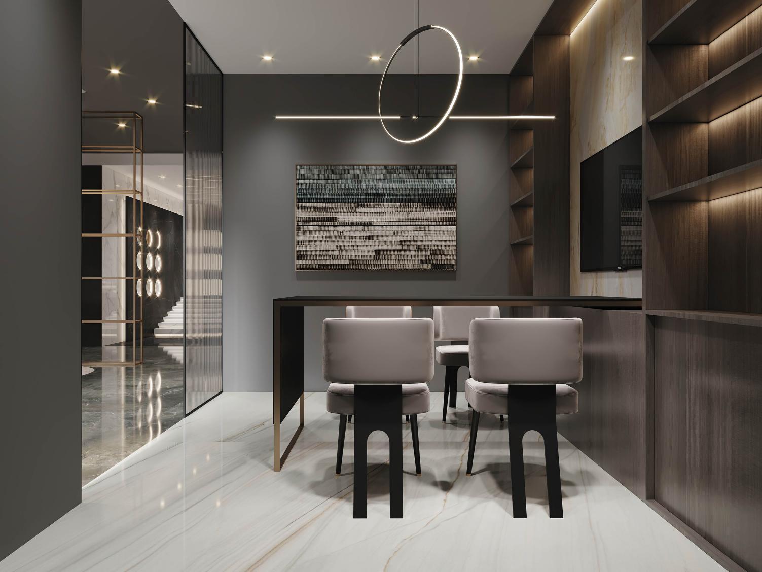 高颜值 轻奢范 丨 SCHENDER意大利施恩德岩板终端专卖店SI系统全新升级